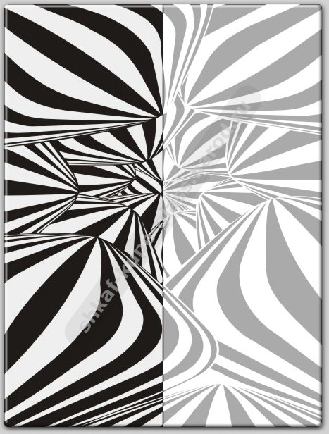 Шкаф купе векторный рисунок
